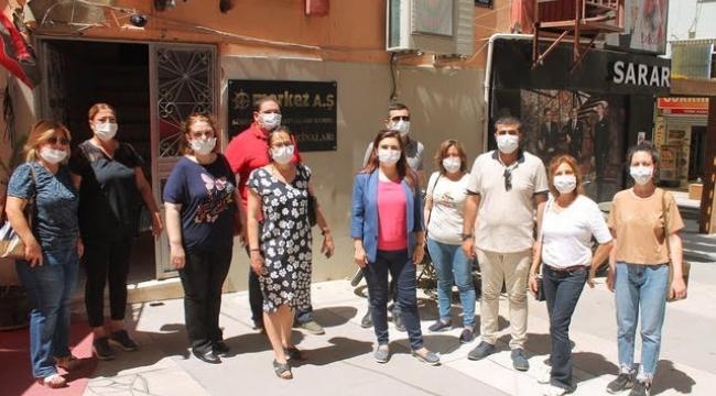 CHP İzmir Milletvekili Av. Sevda Erdan Kılıç, Aliağa halkının yanında