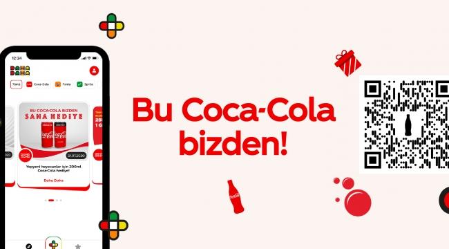 """""""Bu Coca-Cola Bizden"""" kampanyası ile 1.5 Milyon Kişiye hediye Coca-Cola"""