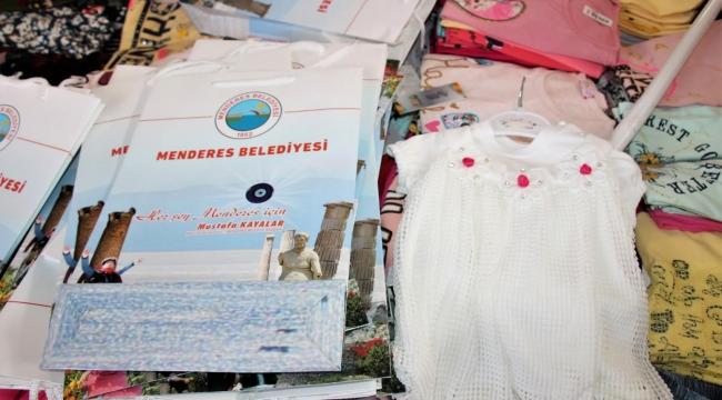 Menderes'te çocuklar için giysi kampanyası
