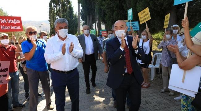 Başkan Soyer'den Go-Kart direnişine destek: İzin vermeyeceğiz