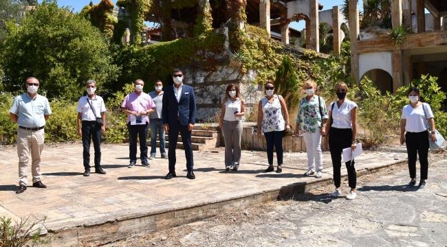 Foça Belediyesi Fransız Tatil Köyü'nün ihalesine katılacak