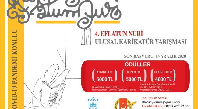 4. Eflatun Nuri Ulusal Karikatür Yarışması başlıyor