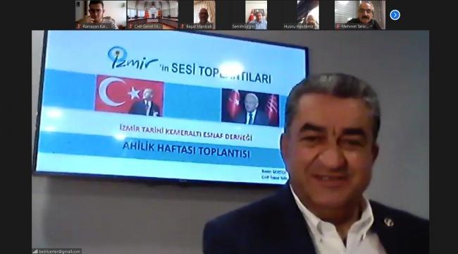 CHP İzmir Milletvekili Serter, esnafı Kılıçdaroğlu ile buluşturdu