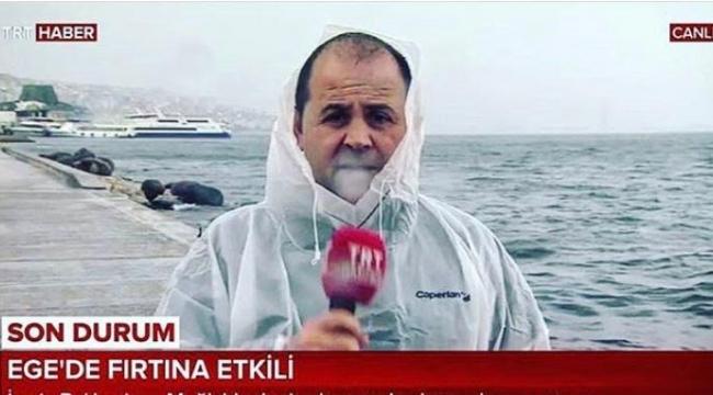 TRT'nin deneyimli muhabiri emekli oldu