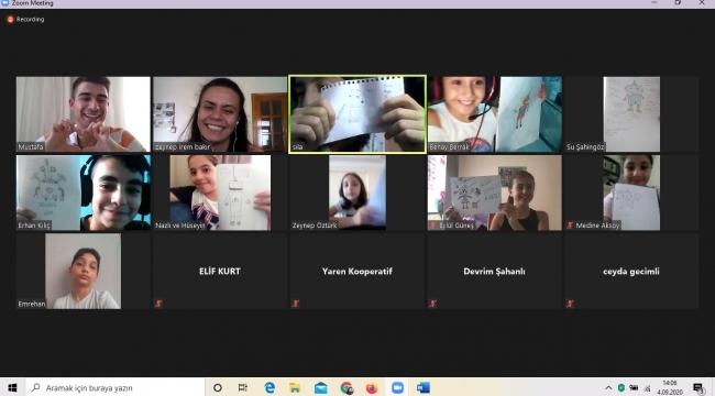 Türkiye'nin ilk çevrimiçi 'Çocuklara Halk Bilimi Yaz Etkinlikleri' gerçekleşti