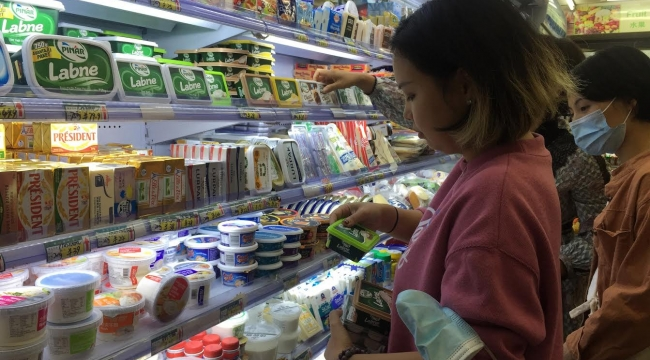 Çin, Türk peyniri yiyecek