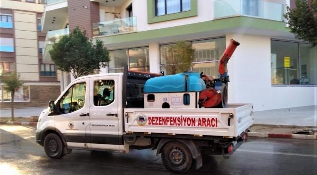 Kemalpaşa'nın her sokağı dezenfekte ediliyor