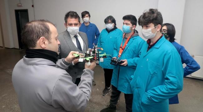 KOSBİ, Zülfü - Mevlüt Çelik Mesleki ve Teknik Anadolu Lisesi'nden drone projesi