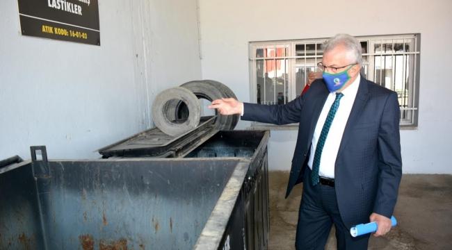 Atık Getirme Merkezi hizmet vermeye başladı