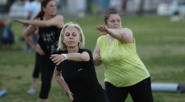 (Foto Galerili Haber) Sağlık için spor yapacaklar!