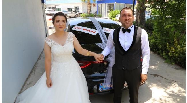 Güzelbahçe Belediyesi şirket personellerine özel günlerde özel araç