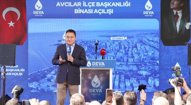 Ali Babacan: 'Türkiye'yi öfkeye teslim etmeyeceğiz'