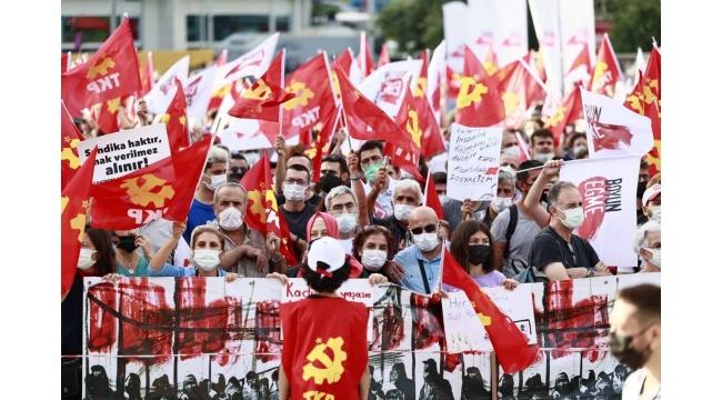 """Komünistler """"Şimdi Sosyalizm Zamanı"""" demek için buluştu!"""